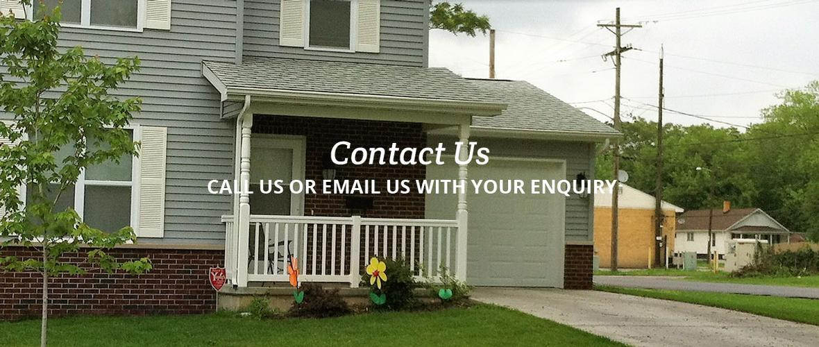 Windsor Homes contact us header